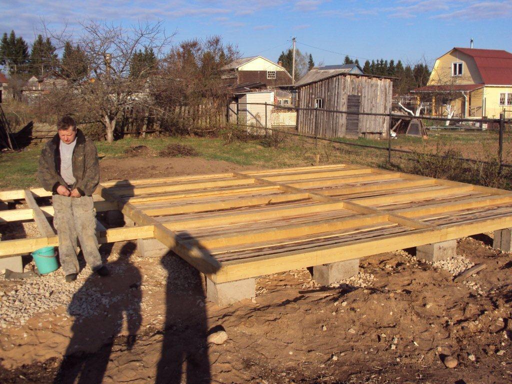 Строим дом из бруса своими руками от фундамента до крыши фото 71